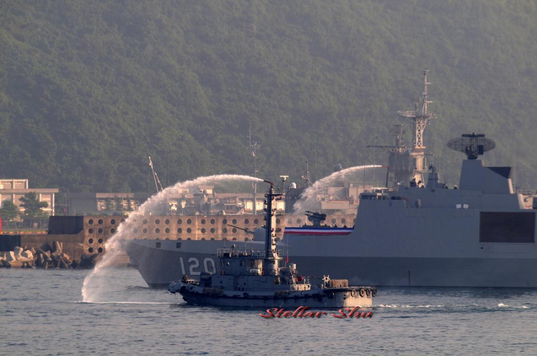 98年敦睦艦隊環島航訓