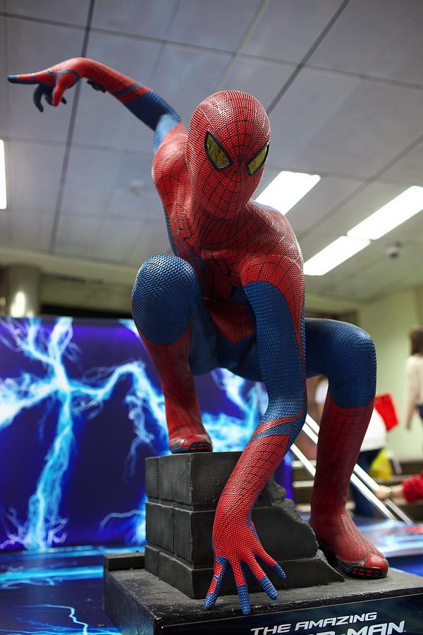 Spider-man 台北車站地下街 20140419