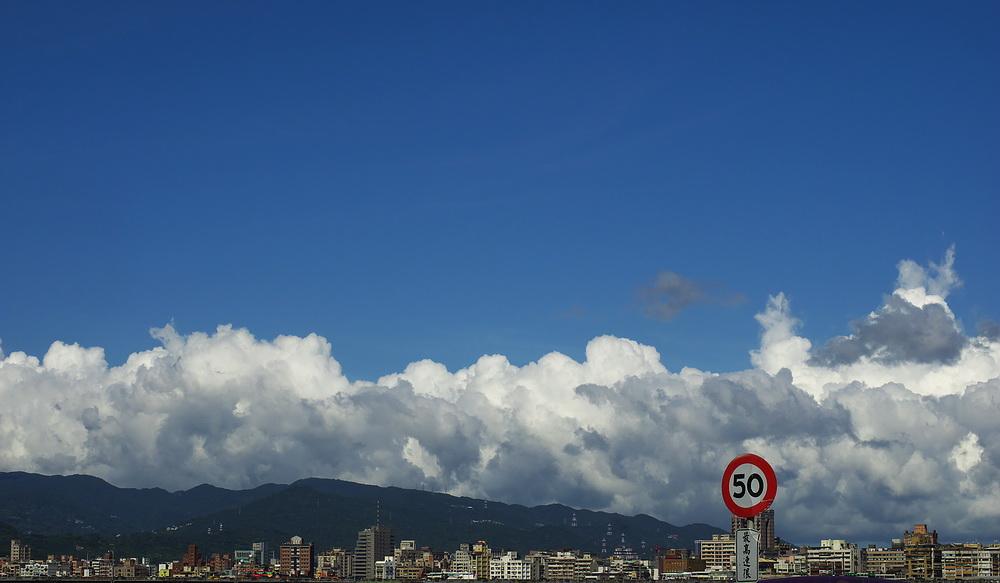 20140906台北中興橋上風景