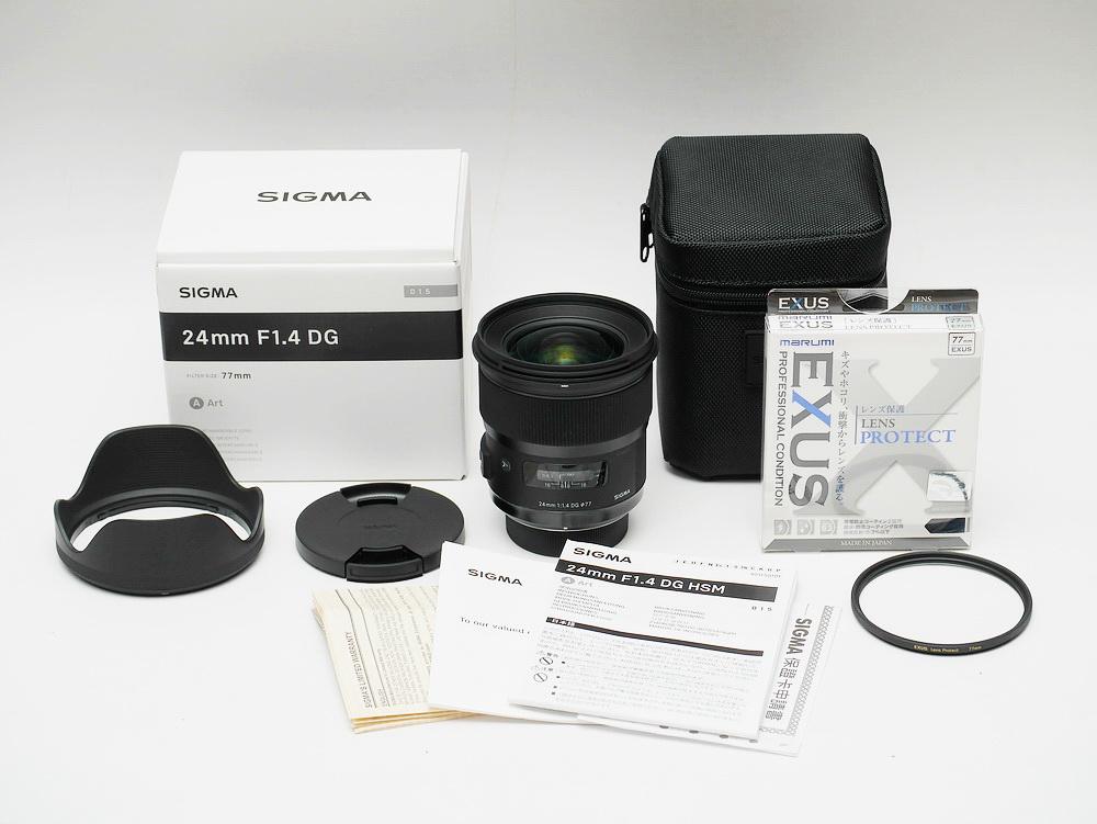 SIGMA 24mm F1.4 DG Art Unbox _002
