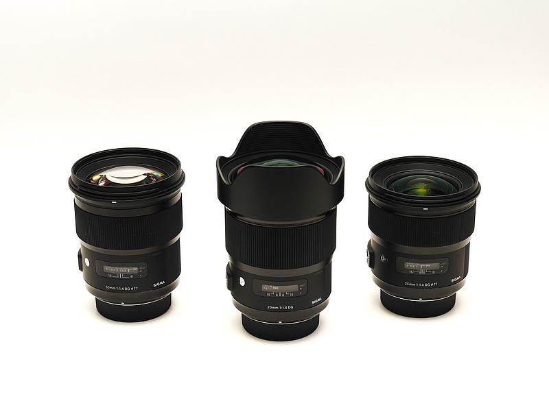 SIGMA 20mm F1.4 ART Unbox _05