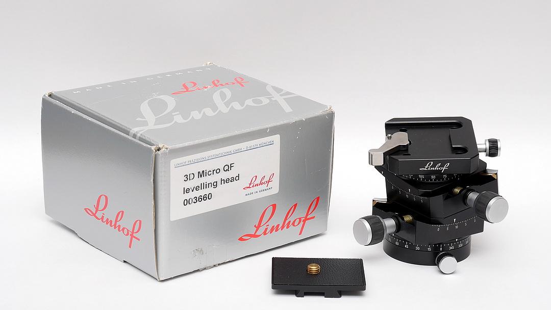 Linhof 3D Micro 3660 Unbox