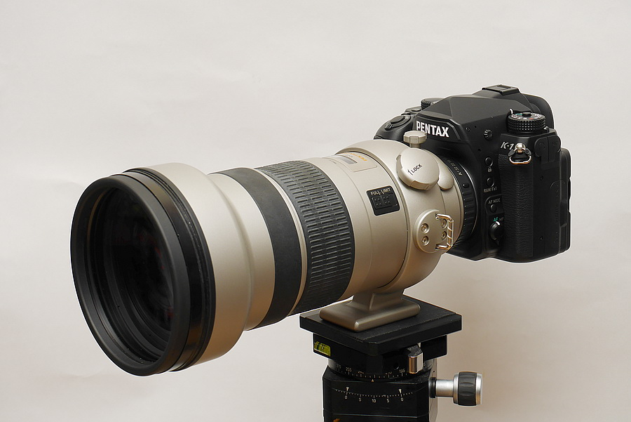 PENTAX K-1 with FA* 300mm F2.8