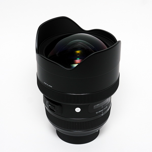 SIGMA 12-24mm F4 DG Art Unbox