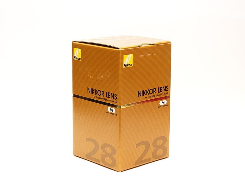 Nikon AF-S NIKKOR 28mm F1.4E ED Unbox