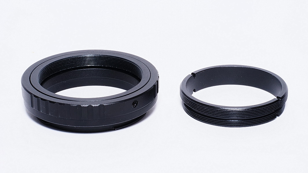 M50x0.75P-M48x0.75P轉接環+ M48-EF轉接環