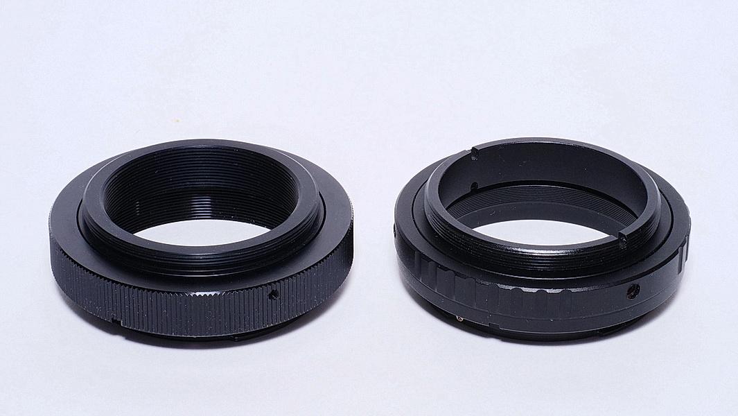 PENTAX M50X0.75P-EF versus M50-M48+M48-EF
