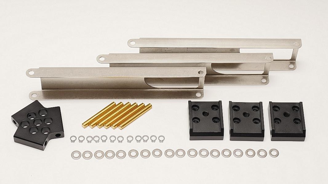 PENTAX MS-3/3N赤道儀腳架增加三幅連桿改裝套件