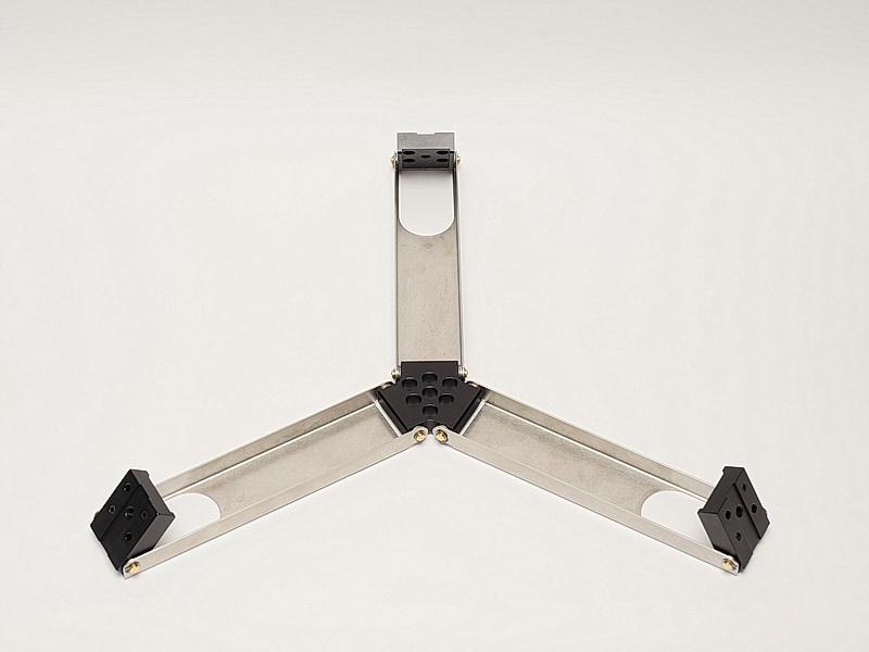 PENTAX MS-3/3N赤道儀腳架增加三幅連桿改裝套件中央部預組立