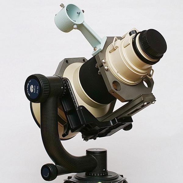 OM ZUIKO 350mm F2.8與專用抱箍及鳩尾板用於吊籃式雲台