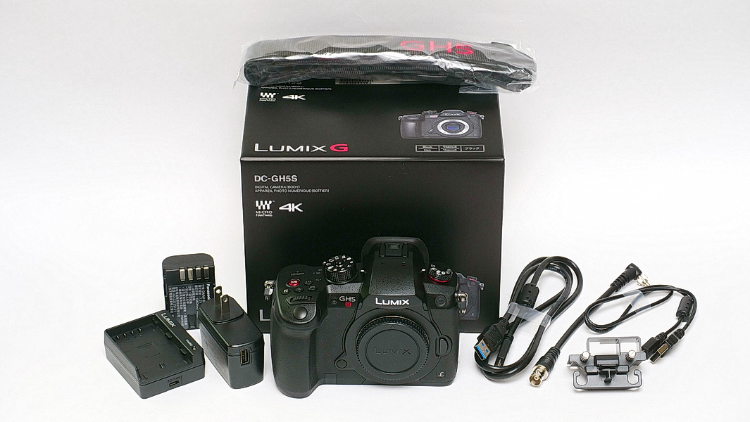 Panasonic DC-GH5S Unbox