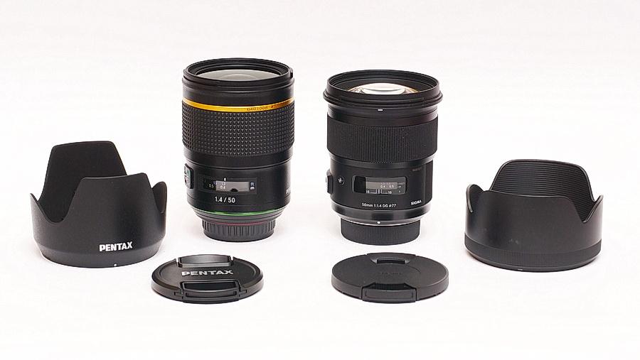 PENTAX-D FA* 50mm F1.4 SDM AW versus SIGMA 50mm F1.4 Art