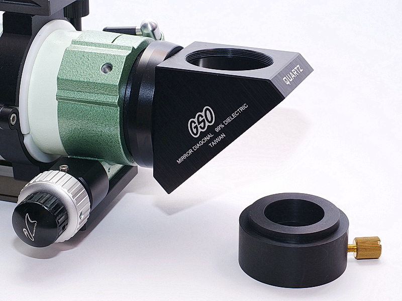 "Test fixture for the short optical path 1.25"" eyepiece clamp 01"