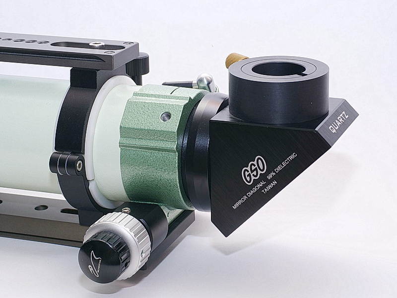 "Test fixture for the short optical path 1.25"" eyepiece clamp 02"