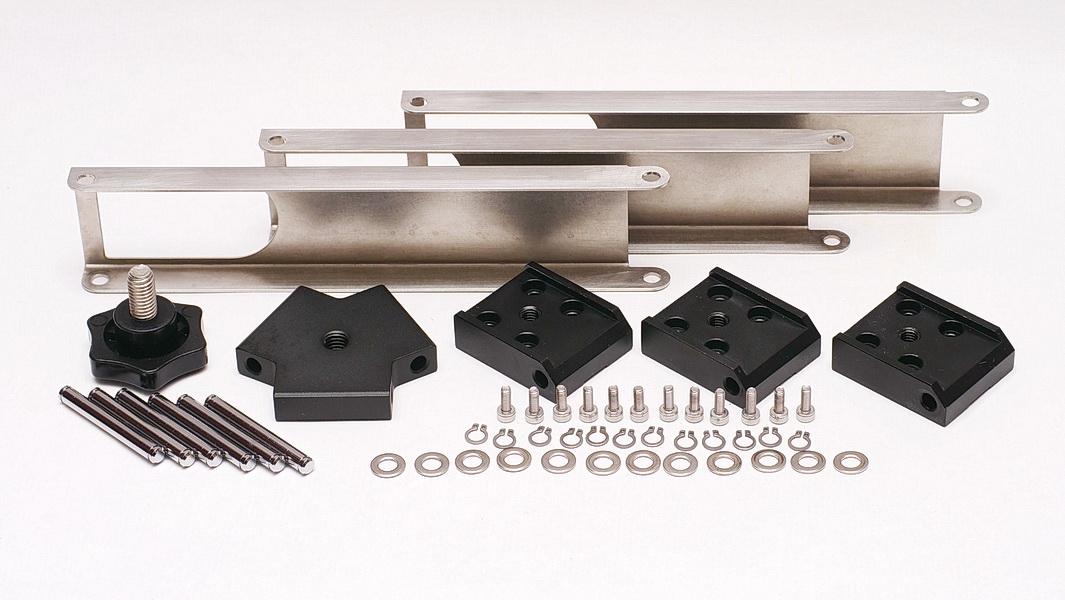 PENTAX MS-3/3N赤道儀腳架增加三幅連桿改裝套件(更新版)