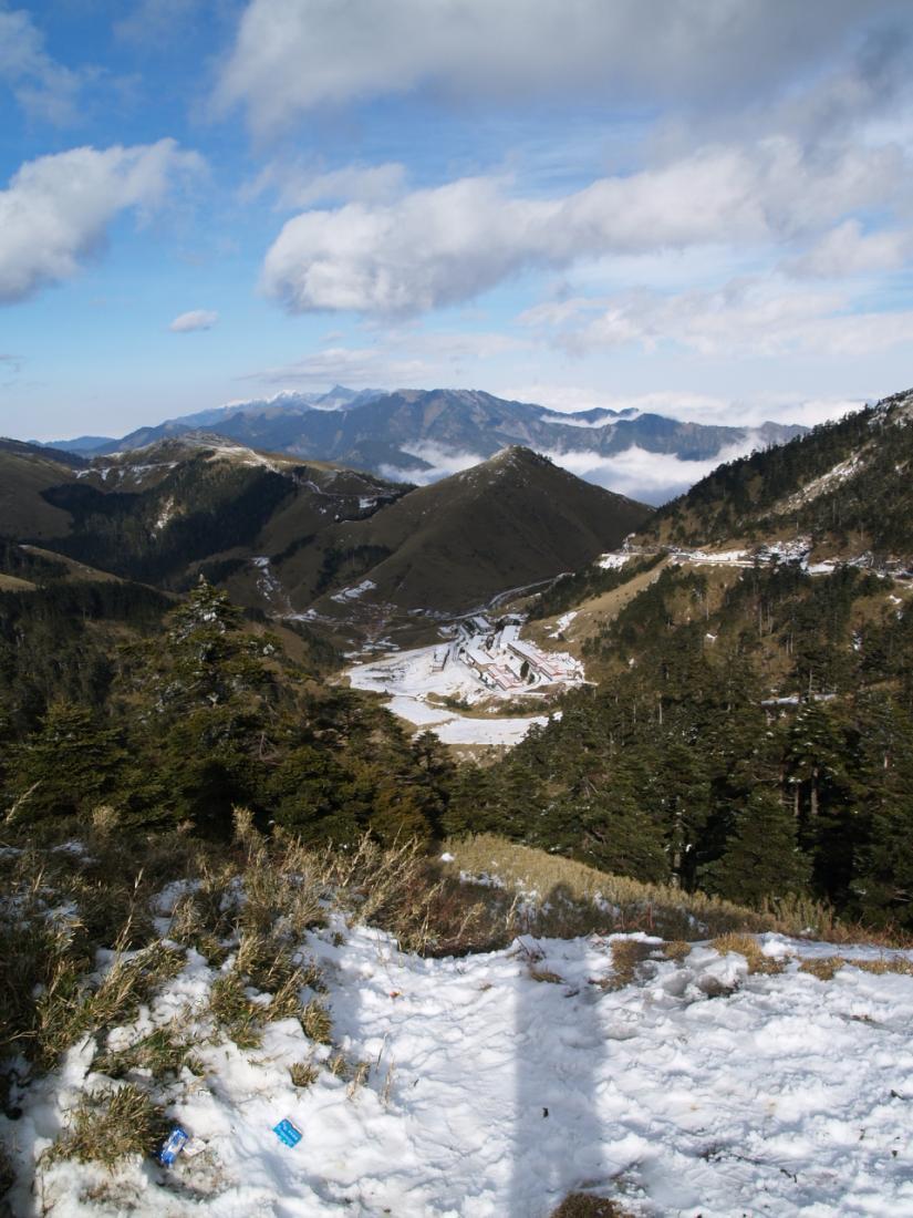 E300處女拍-合歡山武嶺雪景