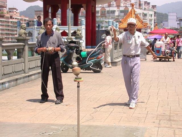 三峽清水祖師廟橋上
